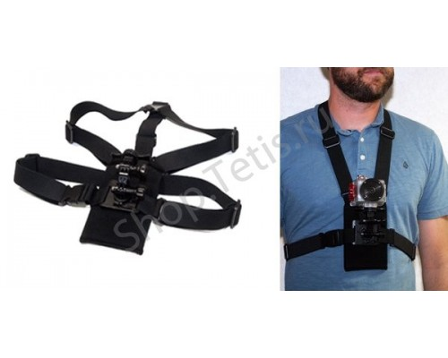 Крепление экстрим-камеры на грудь