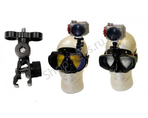 Крепление экстрим-камеры на маску