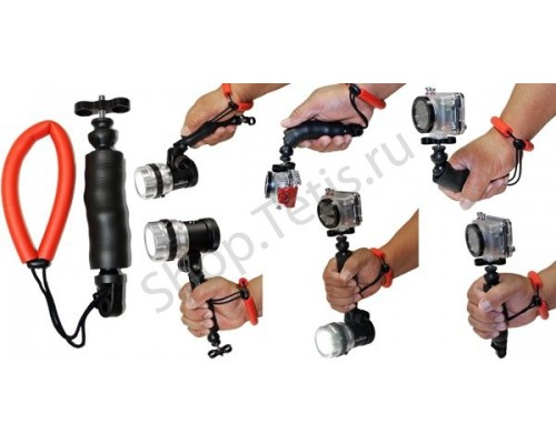 Ручка-фиксатор с петлей на руку для экстрим-камер