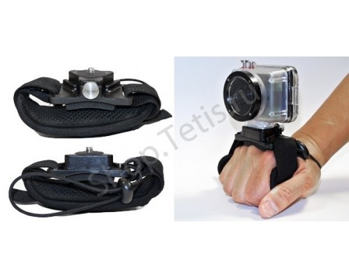 Крепление экстрим-камеры на руку