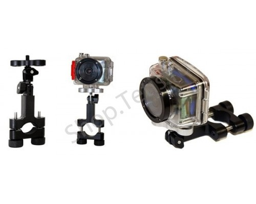 Крепление экстрим-камеры на руль велосипеда/весло