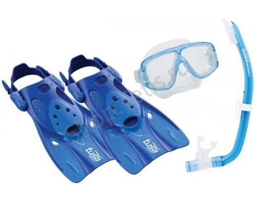 Комплект маска+трубка+ласты  UPR 0101