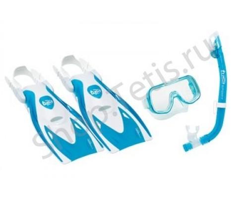 Комплект маска+трубка+ласты  UPR-2221B