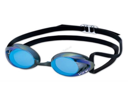 Очки для плавания V-101AMR стартовые зеркальные