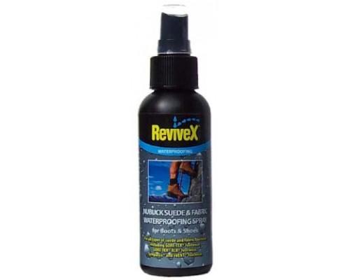 Водоотталкивающий спрей для обуви из нубука, замши и ткани ReviveX®